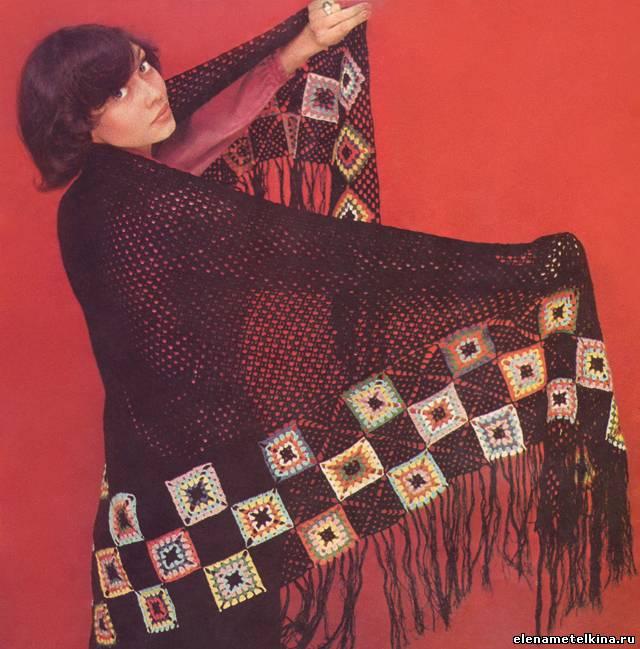 Радянська модель Олена Метьолкіна в журналах в'язання